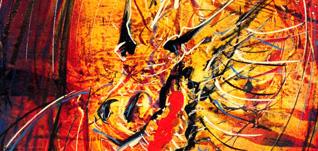 Dragon Abstract