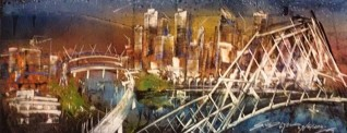From Southbank to Story bridge. My Brisbane.