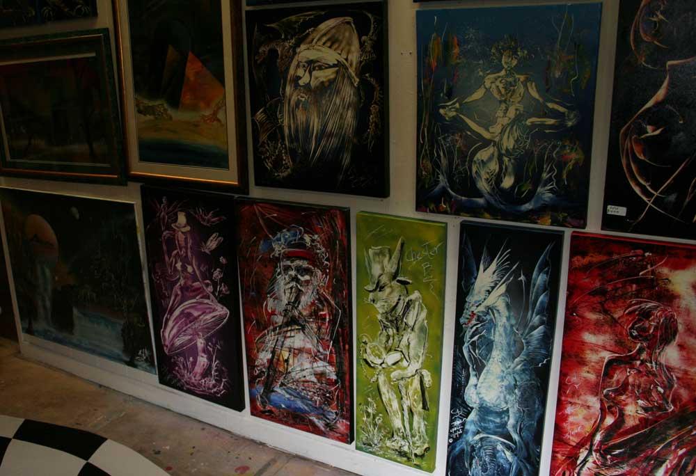 alice-wonderland-CBD Gallery Brisbane-oppening-2007
