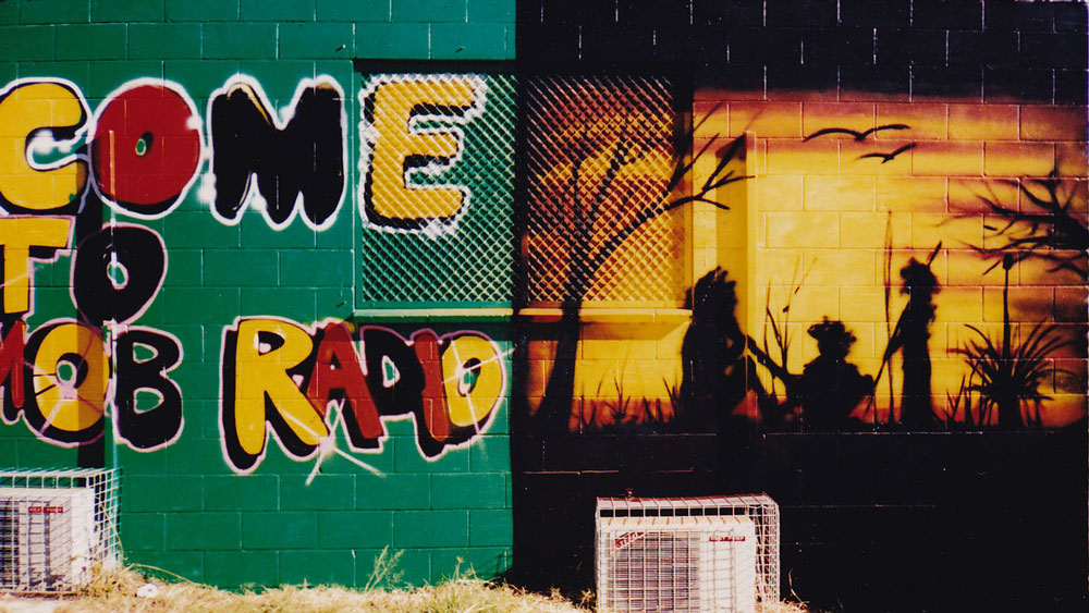 """Cherbourg's Community Radio Station"" ""Us Mob Radio"""